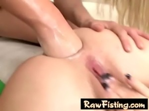 Anal fisting lesbian babes free