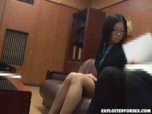 Japanese lady  forced to have sex in the job interview free