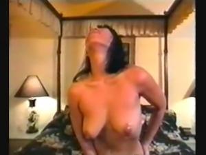 Hana Ku (c.1991) from solo to threesome (240p)