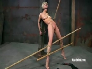 Kinky Babe Bound and Spread free