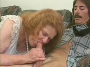 mature granny blonde fucking sex with hubby cock on sofa free