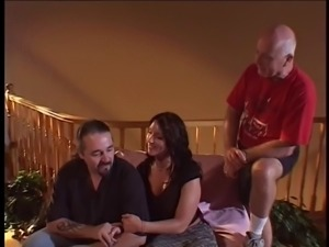 bad-monkeys Wife Gets Screwed Meanwhile Hubby Watches