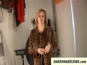 British MILF works cock harsh after modelling free