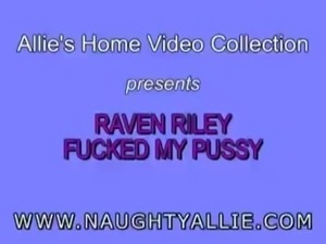 Lesbian Naughty Allie Raven Riley Fucked My Pussy free