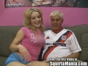 Newbie Porn Star Ally Ann's Squirt Alley! free