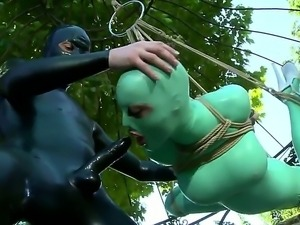 Hardcore outdoor fuck with crazy teen boyfriend a gorgeous bitch named Latex...