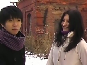 Asian guy knows how to seduce young beautiful and naive girls just like Nika...