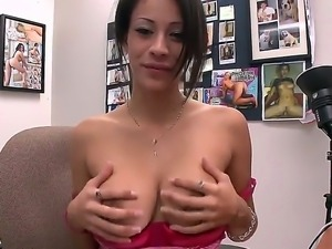 Busty and sexy slut Jamie Valentine wants to change her life and she came to us