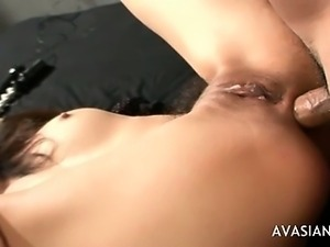 Extreme Ass to Mouth Asian Threesome Hardcore