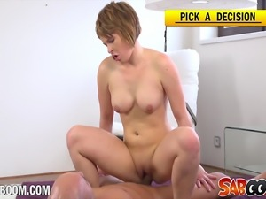 Saboom presents horny euro slut Marcy Lee. After the workout she wants to get...