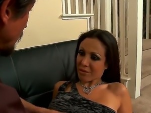 My wifes sexy best friend Amy Fisher is always ready to suck my big cock