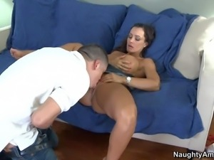 Lisa Ann is a sinfully sexy mom of his buddy.