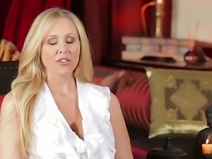 Sweet juicy whores Jessica Drake and Julia Ann in hot revelation interview!