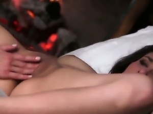 Have a look at wild lesbian games of two codding spicy dolls Lena Nicole and...