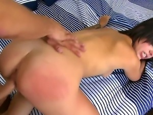 Naughty fucked Danny Mountain got his cock hotly sucked by Madelyn Monroe...