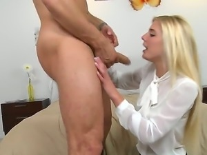 Look at amazing blonde college whore Carmen Monet fucking hard with Danny...