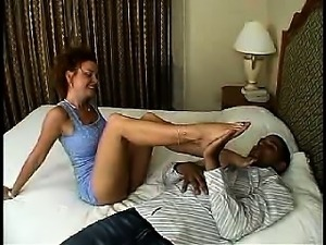 Sexy mature amateur milf cougar wife cuckold foot fetish
