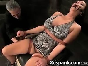 Bondage Hoe Spanked Crazy
