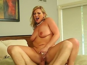 Danny Wylde and Vicky Vixen are having intense pleasure deep fucking eachother