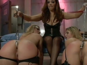 Sheena and aj are anally invaded by francesca le