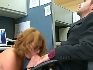 Affectionate Ava Rose ends up sucking Kris Slaters long and hungry...