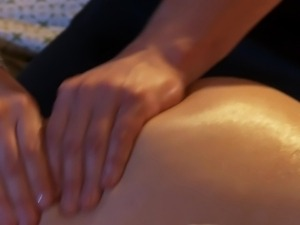 Slim small titted blonde milf Vanilla Deville loves sensual sex.