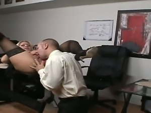 Chris Charming teases Tamara Russ into deep fucking her shaved cunt with him...