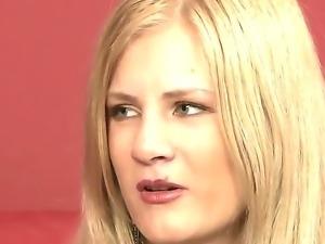 Enjoy dirty talks of two depraved hot lesbian babes Nikita Blonde and Silvia...