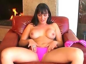 Steaming hot Destiny Dixon masturbates her juicy cunt for hardcore orgasm!