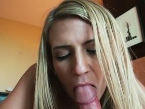 Blonde slut amanda tate gets her ass drilled