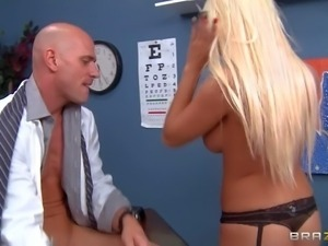 Johnny Sins must adjust to this intensive fucking procedures. He
