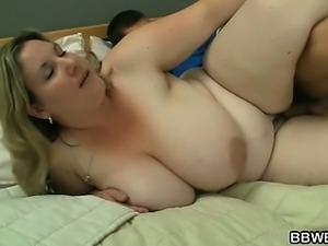 I seduced a burglar with my huge boobs
