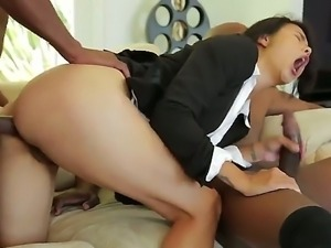 Dana Vespoli,Marc Anthony and Prince Yahshua fucking in interracial threesome