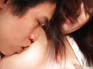 Horny girl is abused by horny guy