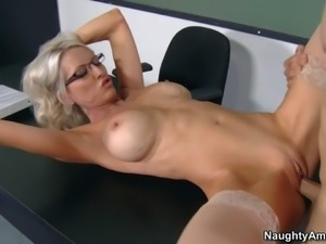 Professor Emma Starr is a perfect bodied milf with huge