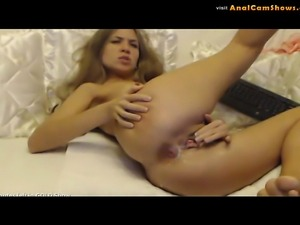 Hot Zolla riding dildo on cam