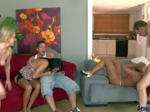 Cathy Heaven, Tristyn Kennedy, Miya Monroe do wild things in unthinkable...