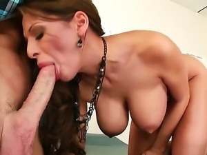 Allison Star loves feeling huge cock sliding her naughty vag during hard sex...