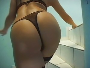 Babe in stockings loves anal sex