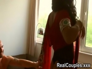 Desi Indian is pounded hard by husband free