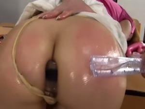 Horny student seduced by a female teacher