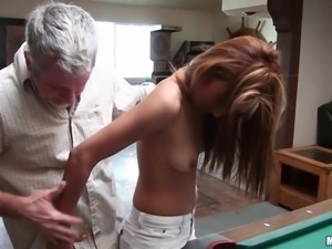 she loves to get drilled by a mature cock.