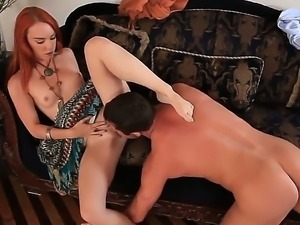 Sexy young hot chick Dani Jensen is pleasing her fucker Jack Lawrence with...