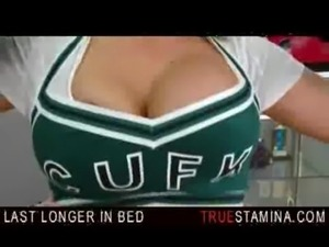 cheerleader cum free