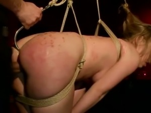 Busty babe kira banks in real punishment and pain