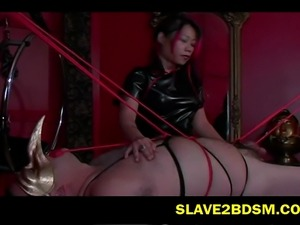 Watch men and women get bounded and tormented in a no holds barred session at...