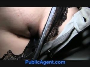 PublicAgent Jessie gets her wet pussy fucked on stairwell free