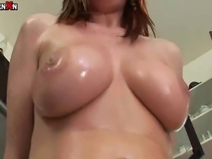 This busty brunette sure knows how to have fun with her pussy pump. Once a...