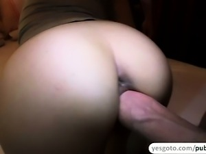 Lucie gets threesome with her husband and a stranger in exchange of cash