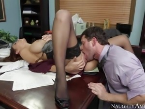 Pornsharing.com free videoclip : Dirty and aroused boss Preston Parker gets a...